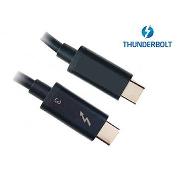 Thunderbolt 3 (40Gbps) passive cable 0.5M 线材